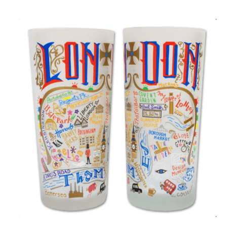 $16.50 London Catstudio Glass