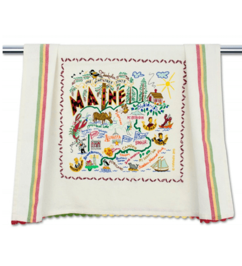 $20.00 Maine Catstudio Dish Towel