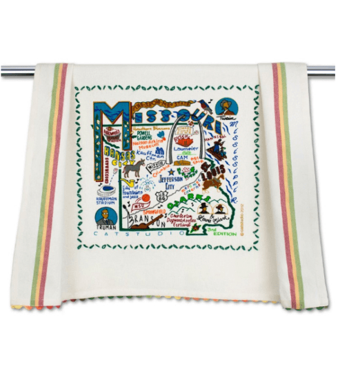 $20.00 Missouri Catstudio Dish Towel