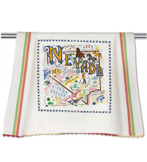 $20.00 Nevada Catstudio Dish Towel