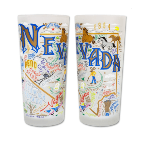 $16.50 Nevada Catstudio Glass