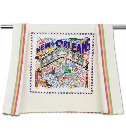 $20.00 New Orleans Catstudio Dish Towel