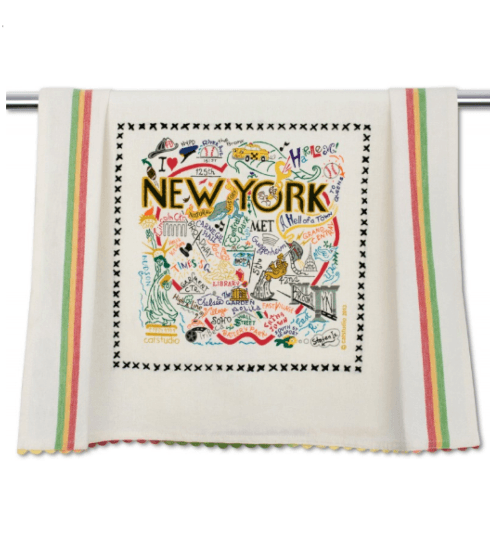 $20.00 New York City Catstudio Dish Towel