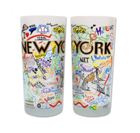 $16.50 New York City Catstudio Glass