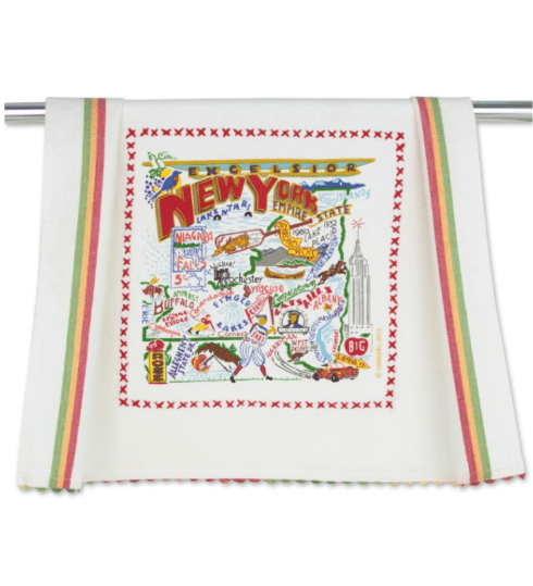 $20.00 New York State Catstudio Dish Towel