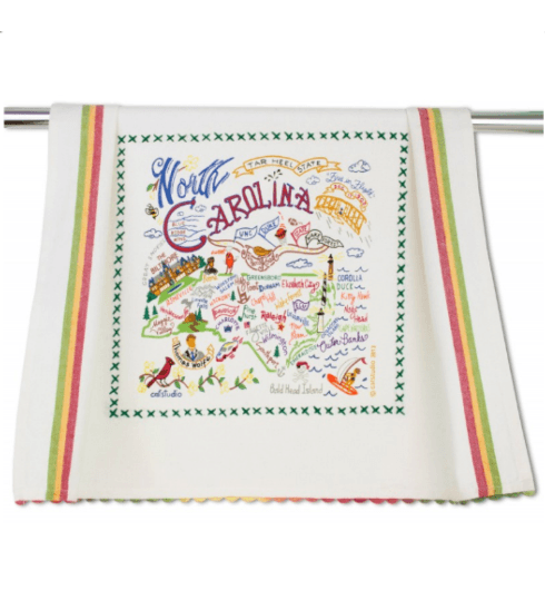 $20.00 North Carolina Catstudio Dish Towel