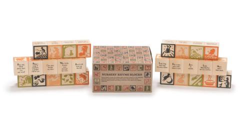 $43.00 Nursery Rhyme Blocks (28)