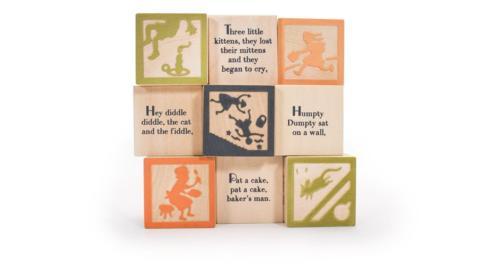 $16.00 Nursery Rhyme Blocks (9)