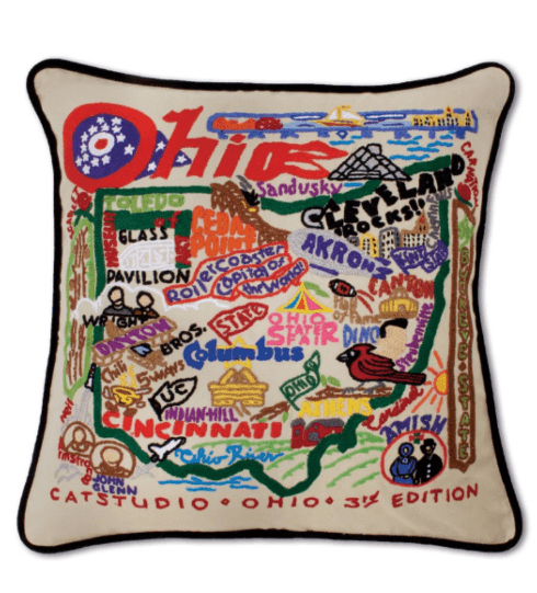 $196.00 Ohio Catstudio Pillow