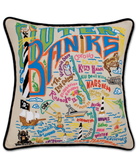 $196.00 Outer Banks Catstudio Pillow