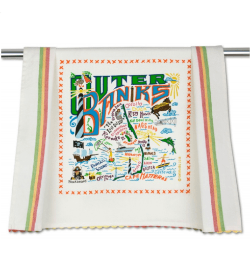 $20.00 Outer Banks Catstudio Dish Towel