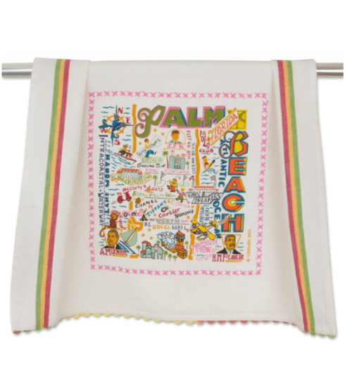 $20.00 Palm Beach Catstudio Dish Towel