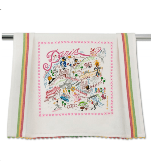 $20.00 Paris Catstudio Dish Towel