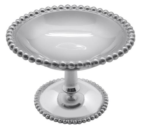 $66.00 Pearled Footed Candy Dish - Medium
