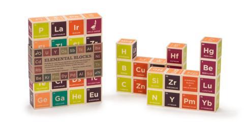 $38.00 Periodic Table Blocks