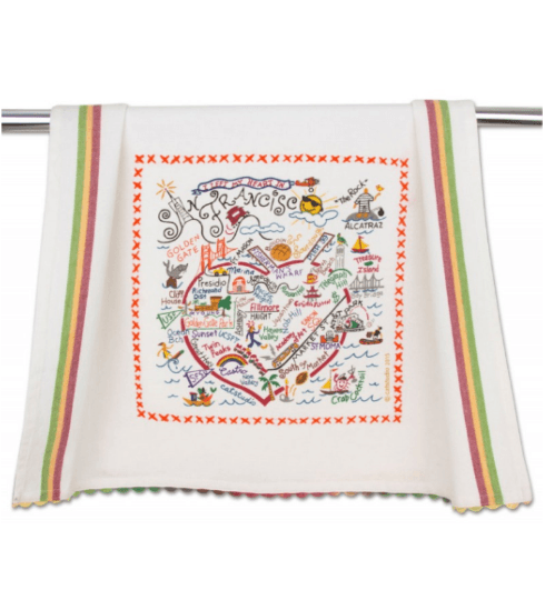 $20.00 San Francisco Catstudio Dish Towel