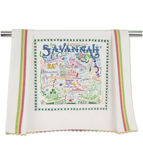 $20.00 Savannah Catstudio Dish Towel