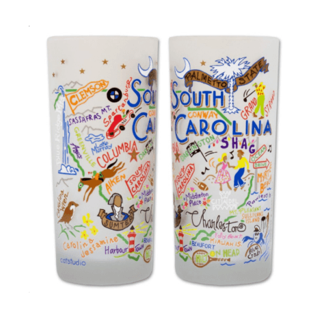 $16.50 South Carolina Catstudio Glass