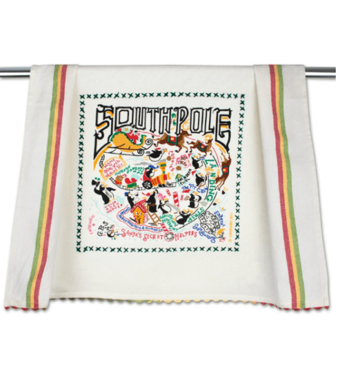 $20.00 South Pole Catstudio Dish Towel