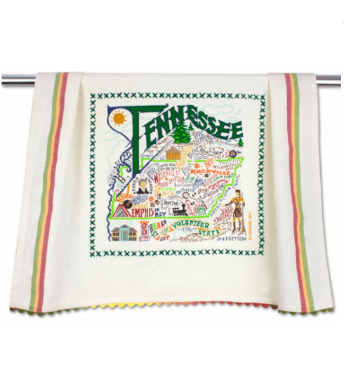 $20.00 Tennessee Catstudio Dish Towel