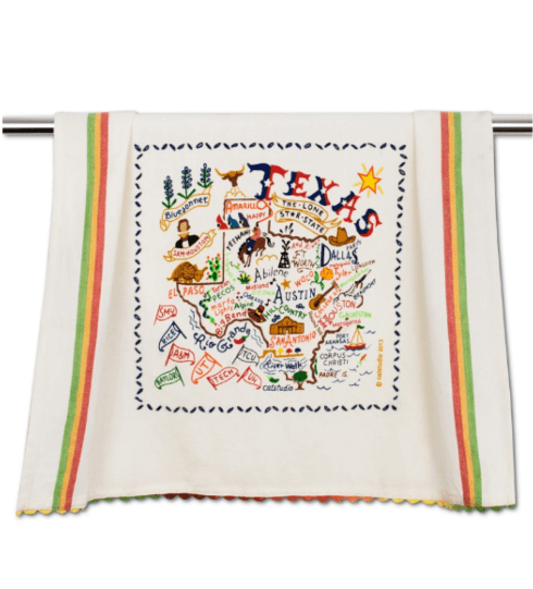 $20.00 Texas Catstudio Dish Towel