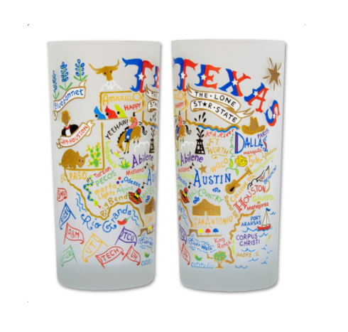 $16.50 Texas Catstudio Glass