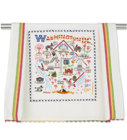 $20.00 Washington DC Catstudio Dish Towel