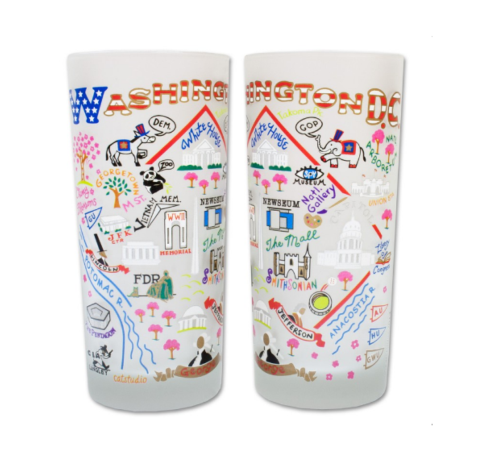 $16.50 Washington DC Catstudio Glass