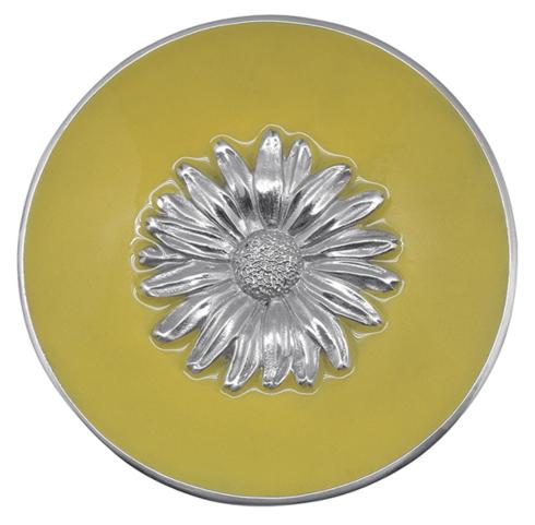 $49.00 Daisy Relief Bowl - Yellow