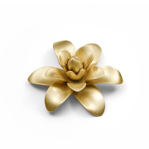 Flower Brass Plate 5