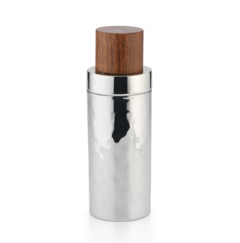 $120.00 Sierra Cocktail Shaker w/Wood Lid 9½""