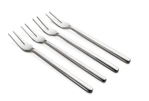 "$55.00 Versa Cocktail Fork 4/pc w Box 5¾"" L  (2/pk min)"