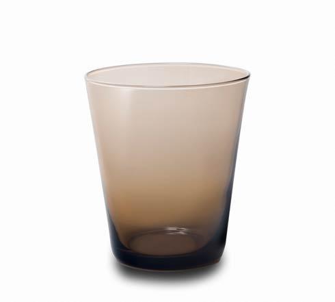 Glass Tumbler Chocolate-2/pc Set