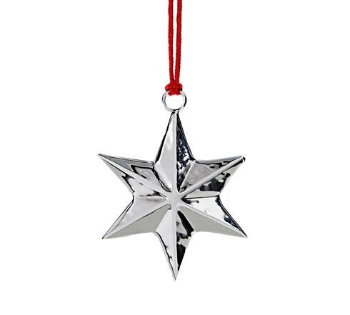 6-Point Star Ornament w/Red Pouch