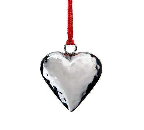 Heart Ornament w/Red Pouch