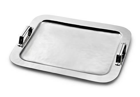 Serve Tray w/Strap Handles image