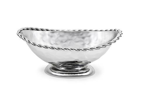 Mary Jurek  Paloma Oval Bowl w/ Braided Wire $90.00