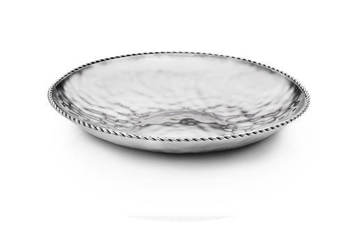 $175.00 Round Shallow Dish w/ Braided Wire