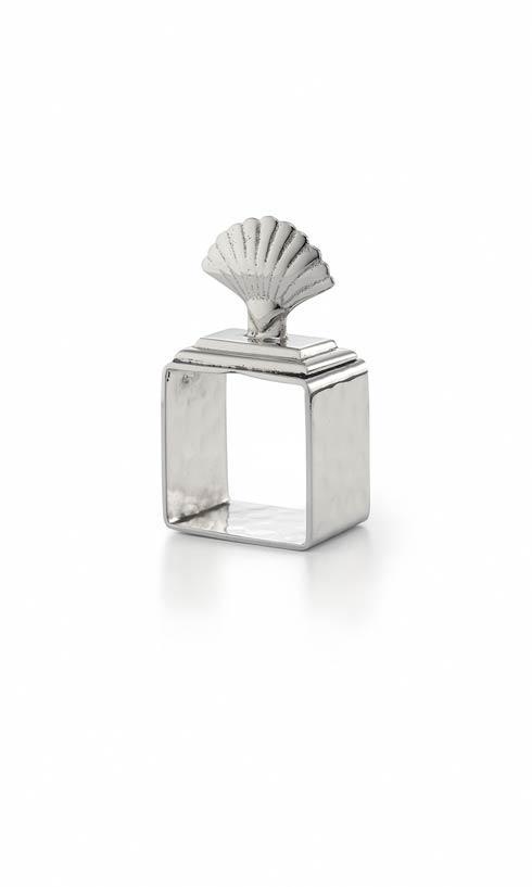 $50.00 Shell Napkin Ring 4/pc Box