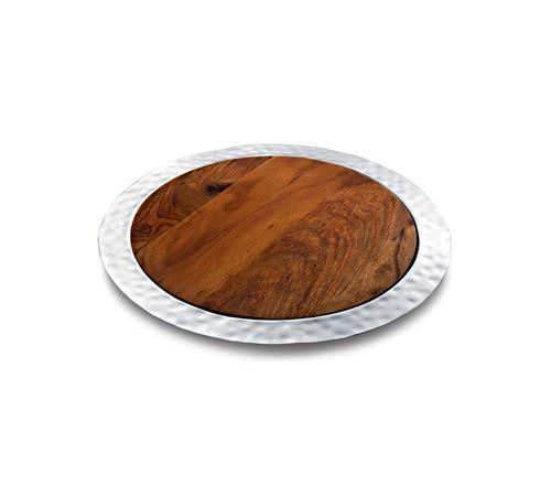 $270.00 Round Tray w/ Rosewood Insert