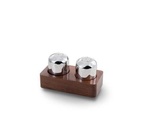 $80.00 Salt & Pepper Set w/Ind Rosewood Holder