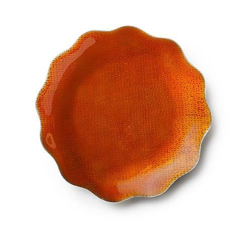 $25.00 Burnt Orange Dish