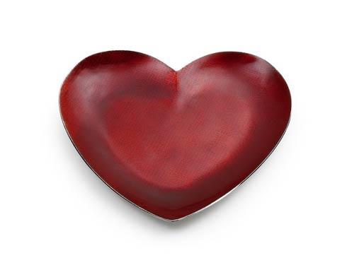 Scarlet Red Heart