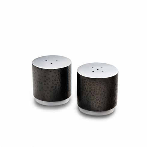 Mary Jurek  Northstar Black Nickel Salt & Pepper Set $85.00