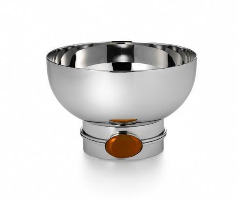 Round Bowl w/ Carnelian Stone