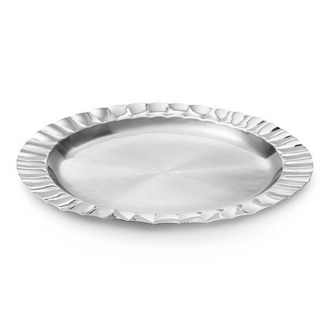 $145.00 Scalloped Round Tray