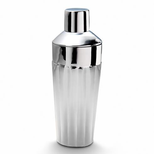 "Mary Jurek  Silhouette Scalloped Cocktail Shaker 8¾"" H $90.00"