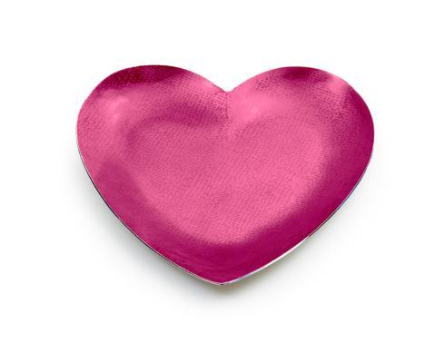 """$50.00 Pink Orchid Heart 7"""""""