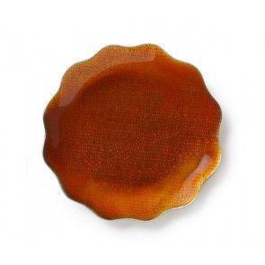 Burnt Orange Dish (4/s)