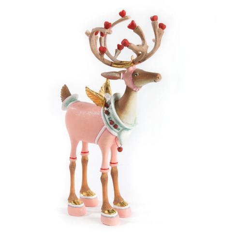 $98.00 Cupid Reindeer Figure
